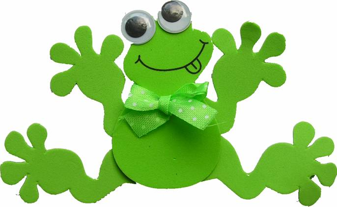 Puppets for Frog finger puppet template